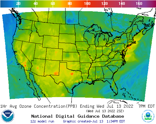 conus - 12HR Ozone01