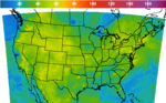 National 1-Hr Average Ozone Concentration Image