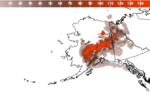 Alaska Surface Smoke Image